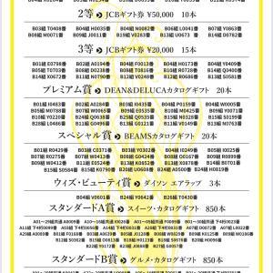 Always with BEAUTY チャレンジ2021当選発表。