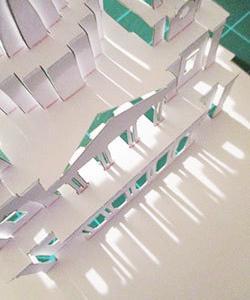 紙一枚折り紙建築 無料ダウンロード