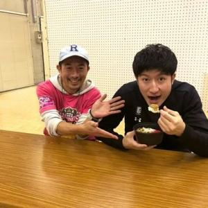 本日放送!FM秋田「ウィークリーノーザンハピネッツ」にて白濱選手プロデュースの「桃豚ホルモン丼」についても放送されますよ!