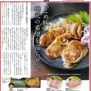 産直取引先の「パルシステム」カタログ表紙に当グループが育てている「日本のこめ豚」が掲載されました!