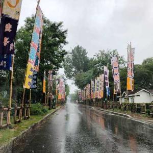農場がある小坂町は雨が降り続いてます。
