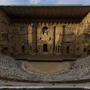 オランジュのローマ劇場・凱旋門 - フランス 世界遺産 写真・壁紙集
