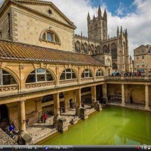 バース市街 - イギリス 世界遺産 写真・壁紙集