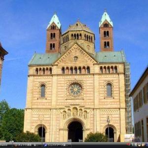 シュパイアー大聖堂 - ドイツ 世界遺産 写真・壁紙集