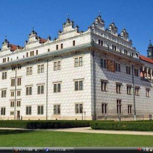 リトミシュル城 - チェコ 世界遺産 写真・壁紙集