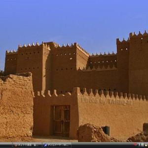 ディルイーヤの ツライフ地区 - サウジアラビア 世界遺産 写真集