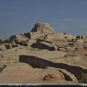 モヘンジョダロの考古遺跡 - パキスタン 世界遺産 写真・壁紙集