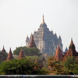 バガン - ミャンマー 世界遺産 写真・壁紙集