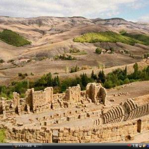 ジェミラ - アルジェリア 世界遺産 写真・壁紙集