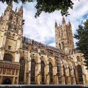 カンタベリー大聖堂、教会、修道院 - イギリス 世界遺産 写真集