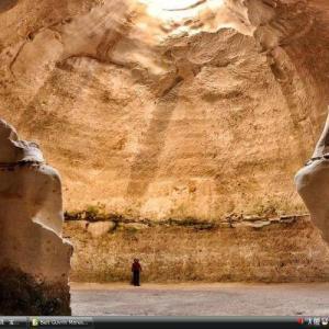 ユダヤ低地にあるマレシャとベト・グヴリンの洞窟群 -イスラエル