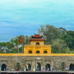 ハノイのタンロン皇城の中心区域 - ベトナム 世界遺産 写真集