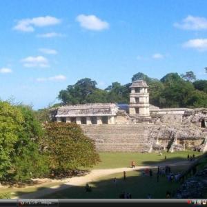 古代都市パレンケと 国立公園 - メキシコ 世界遺産 写真・壁紙集