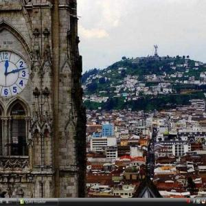 キトの市街 - エクアドル 世界遺産 写真・壁紙集
