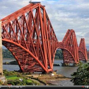フォース橋 - イギリス 世界遺産 写真・壁紙集