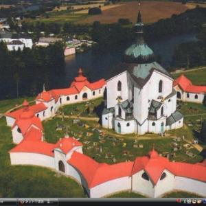 ゼレナー・ホラの聖ヤン・ネポムツキー巡礼教会 - チェコ 世界遺産