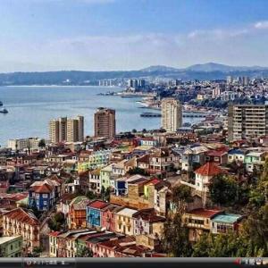 バルパライソの海港都市とその歴史的な町並み - チリ 世界遺産