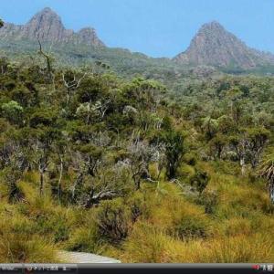 タスマニア原生地域 -オーストラリア 世界遺産 写真・壁紙集