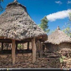 コンソの文化的景観 -エチオピア 世界遺産 写真・壁紙集