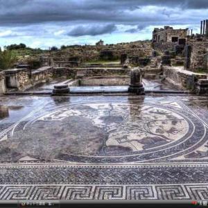ヴォルビリスの考古遺跡 - モロッコ 世界遺産 写真・壁紙集