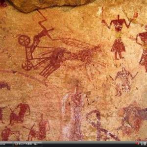 タドラルト・アカクスの岩絵遺跡群 - リビア 世界遺産 写真・壁紙集