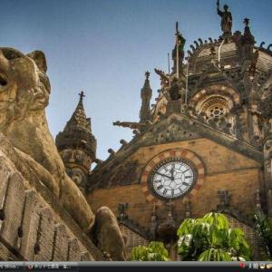 チャトラパティ・シヴァージー・ターミナス駅 - インド世界遺産 写真集