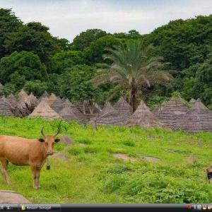 バサリ地方の文化的景観 - セネガル 世界遺産 写真・壁紙集