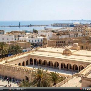 スース旧市街 - チュニジア 世界遺産 写真。壁紙集