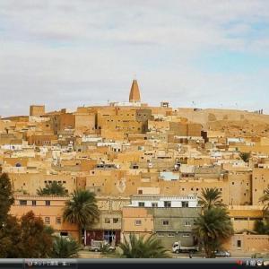 ムザブの谷 - アルジェリア 世界遺産 写真・壁紙集