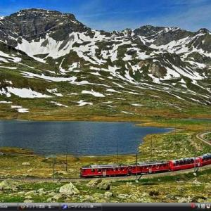 レーティッシュ鉄道~ランドヴァッサー~ - スイス・イタリア 世界遺産