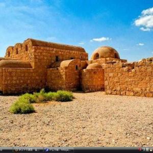 アムラ城 -ヨルダン 世界遺産 写真・壁紙集