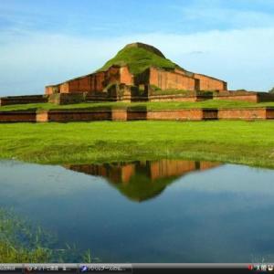 パハルプールの仏教寺院遺跡 - バングラデシュ世界遺産 写真集