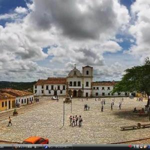 サン・クリストヴァンのサン・フランシスコ広場 -ブラジル 世界遺産
