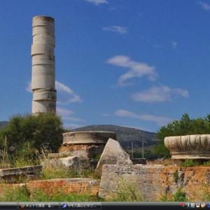 サモス島のピタゴリオとヘーラー神殿 - ギリシャ 世界遺産 写真集