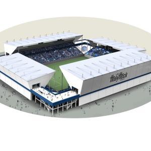 水戸が新スタジアム構想を発表。