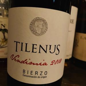 スペイン、ビエルソ種の赤ワイン、ティレヌス・ティント。