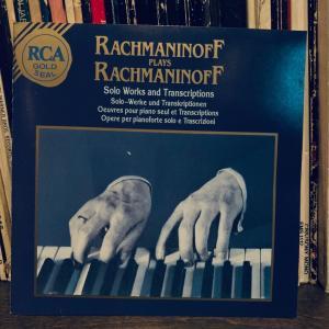 ラフマニノフのピアノ曲集。