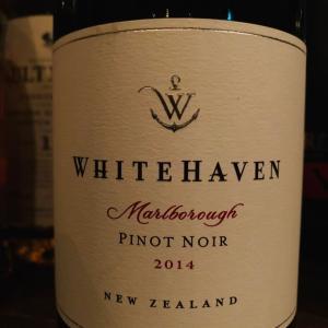 ニュージーランド、マールボロ地区のピノ・ノワール、ホワイトヘイヴン。