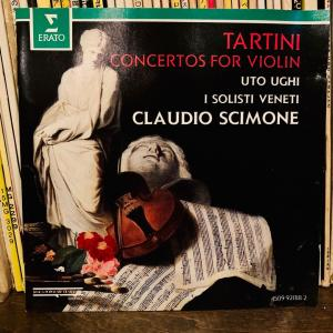 タルティーニのヴァイオリン協奏曲。
