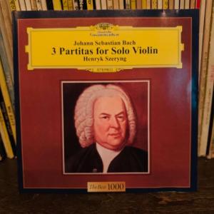 バッハ 無伴奏ヴァイオリンのためのパルティータ。