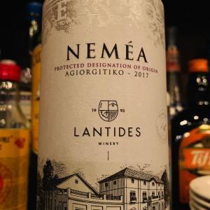 ギリシャ、ネメア地区のアギオルギティコ種を使った赤ワイン。