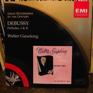ドビュッシーの前奏曲集。