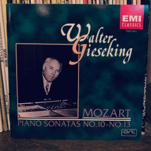 ギーゼキングのモーツァルト。