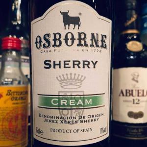 クリーム・タイプのシェリー酒。