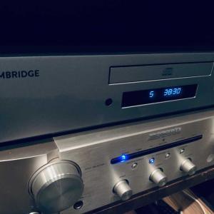 ケンブリッジオーディオ CDプレイヤー。