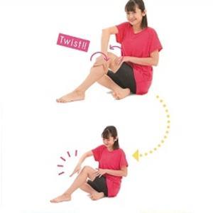 単に筋肉を捻じるのと筋ツイストとの違い