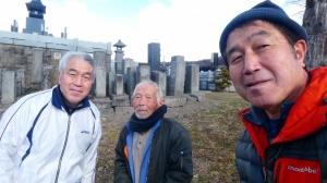 親戚の伯父さん99歳 長野県へ二子で訪問12月20日