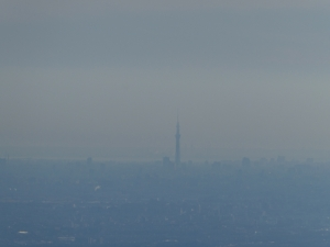 1月2日堂平山と鐘撞堂山