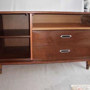 アメリカ家具 1980年ドレクセル チークバッフェ テレビ台