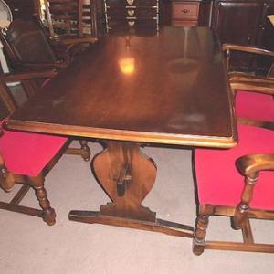 カリモク家具 高級ダイニングテーブル 4人用